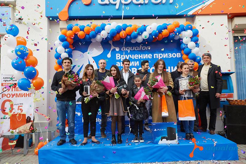 Вручение суперпризов победителям акции «Новогодний сюрприз»(13)
